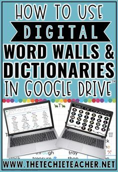 How to Use Digital Word Walls and Dictionaries in Teaching Technology, Medical Technology, Technology Vocabulary, Business Technology, Technology Design, Technology Gadgets, Technology Logo, Energy Technology, Digital Word
