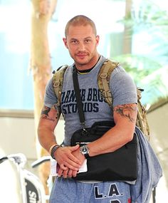 the Tom Hardy look... I'd melt