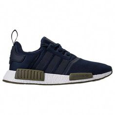 best website b02ce cc8ef 130   adidas NMD Runner R1 Casual Shoes - Collegiate Navy Olive Cargo White