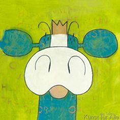 Olga Lubbers - Green Cow