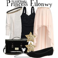 Princess Eilonwy, created by lalakay on Polyvore