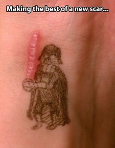 Check out: Funny Memes - Darth Vader scar. One of our funny daily memes selection. We add new funny memes everyday!