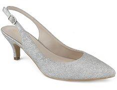 602afd342619 Greatonu Chaussures Femme Escarpins Sandales Élégant Mode Mi Talon 40 EU  Argente Chaussure Femme Escarpin