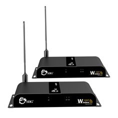 Amazon.com: SIIG Wireless Wall-Mountable 1080P HDMI Extender Video Kit - 165 Feet (50 meters) - Version 2.0 With Wi-Fi Extension Antenna: Computers & Accessories Remote Control Extender, Wire Installation, Av Receiver, Digital Signage, Kit, Entertainment System, Hd 1080p, Computer Accessories, Consumer Electronics