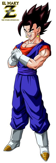 Vegetto V2 by el-maky-z.deviantart.com on @DeviantArt