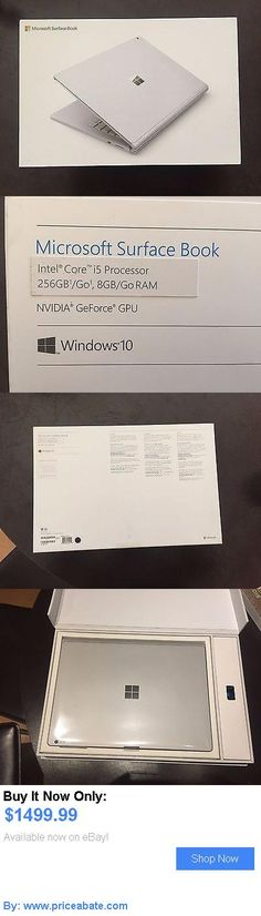 general for sale: Microsoft Surface Book Sx300001 13.5 (256Gb, Intel Core I5 6Th Gen., 2.4Ghz, 8G BUY IT NOW ONLY: $1499.99 #priceabategeneralforsale OR #priceabate
