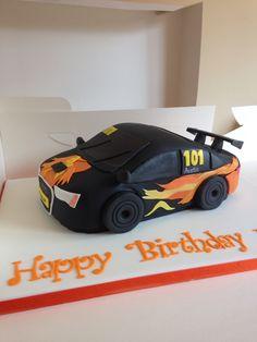Audi A4 car cake