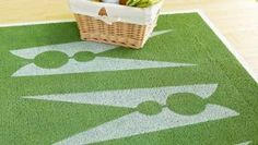 Laundry Room Rugs Stenciled Laundry Room Rug