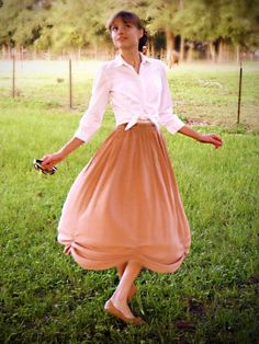 Modest Re-Fashioning Blog - don't forget to wear a petticoat underneath