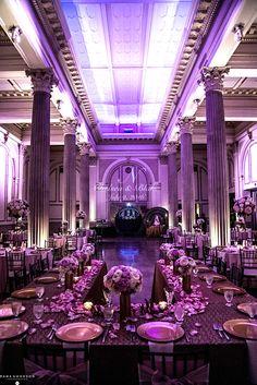 Fuschia Wedding Reception Treasury On The Plaza St Augustine Florida Venue