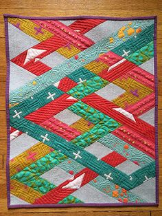 Alison Glass Mini Quilt Swap   by anneliese.eyecandyquilts