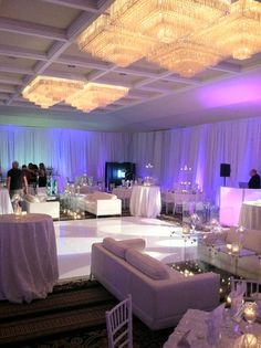 Sweetwater Country Club - get creative with your reception, don't just have a dance floor, set up a lounge atmosphere so that everyone can relax