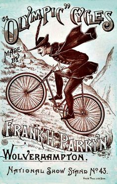 Olympic Cycles made by Frank H. Parkyn, Wolverhampton ~ Anonym