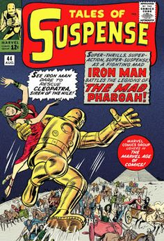 Tales of Suspense #44. Iron Man and Cleopatra.