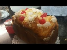 Rosquipan,roscón de reyes en panificadora - YouTube Bread Machine Recipes, Bakery, Pudding, Favorite Recipes, Make It Yourself, Ethnic Recipes, Desserts, Youtube, Food