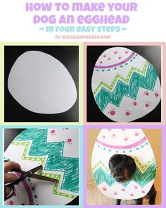 DIY Easter Photo Props for Dogs