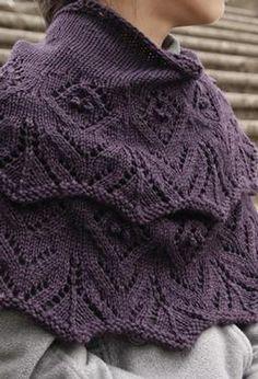 Tulipetta Shawl - Knitting Patterns and Crochet Patterns from KnitPicks.com