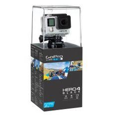 Kamera GoPro Hero 4 Black Najnowszy, flagowy produkt GoPro to przede wszystkim pełnowartościowy standard 4K (ULTRA HD) w szybkości 30 klatek/s.! To również niedostępne dla innych kamer tego typu opcje zwolnienia materiału w jakości 1080p! Dzięki 120 klatkom na sekundę możemy uzyskać czterokrotne zwolnienie przy zachowaniu pełnej płynności-  Capturing 4K  Ultra HD video and liquid-smooth slow motion at up to 240 frames per second,1 HERO4 Black delivers higher performance than any other GoPro