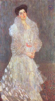 Portrait of Hermine Gallia, Gustav Klimt