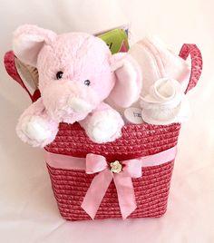 Baby Gift Baskets | Baby girl gift basket