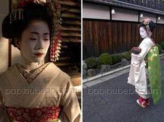 Geisha et maiko dans le quartier de Gion, Kyoto