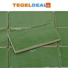 TegelDeal.nl• Product | Sea Green DT. á 37,95/m2, Zeegroen, 7,5x15, Handvorm wandtegels, groene wandtegeltjes | Groen Olive Jade SageGroen-Olive-Jade-Sage, PRODUCTIE SPANJE, Rechthoek-20x40cm<, Keramisch, Wandtegel Aqua, Outdoor Blanket, New Homes, Water