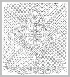 Tita Carré Agulha E Tricot : Bolero Marsala - Diy Crafts - hadido Crochet Shawl Diagram, Crochet Gloves Pattern, Granny Square Crochet Pattern, Crochet Chart, Crochet Squares, Knit Or Crochet, Crochet Motif, Crochet Designs, Crochet Doilies