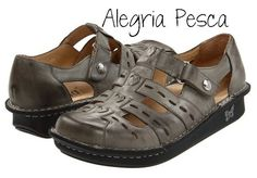 Alegria pesca has a rocker sole which is recommended for metatarsal pain