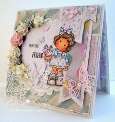 Sweet card created by Mandy for the Simon Says Stamp Wednesday challenge (Anything Goes)