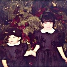 Kendall and Kylie Jenner Are #Twinning in Flashback Christmas Photo