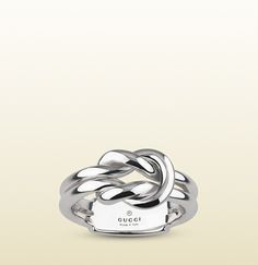 Gucci - knot ring in silver 372356J84000702