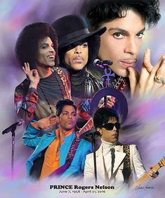 Prince (1958 - 2016) by Gregory Wishum