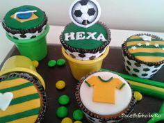 Cupcake da Copa