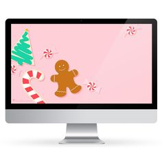 December 2016 Christmas Cookie Calendar Wallpaper