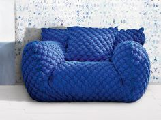 Armchair with removable cover with armrests NUVOLA 09 by Gervasoni design Paola Navone