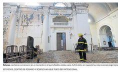 El error geográfico de Clarín sobre el incendio en una Catedral   Grupo Clarín - 28.01.2017