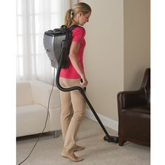 Can't lie, i love this! The Backpack Vacuum- It is about time!!!