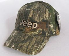 Jeep hat All Things Jeep - Jeep Mossy Oak Hat (Camo styling)