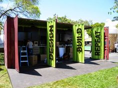 Container SA: Container rental for Events and Marketing Actions