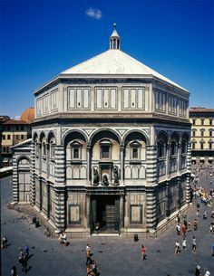 baptistery of san giovanni florence photos | Baptistery of San Giovanni, Florence 1060-1150 CE - Inferno