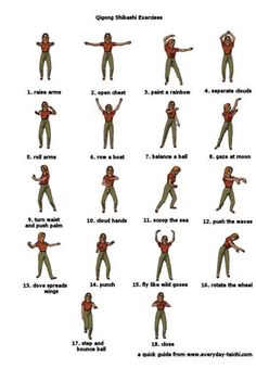 Image detail for -you free qigong course discover master qigong and tai chi with this . Qigong Meditation, Meditation Music, Chakra Meditation, Tai Chi Moves, Karate Moves, Tai Chi Exercise, Tai Chi For Beginners, Exercise Images, Tai Chi Qigong