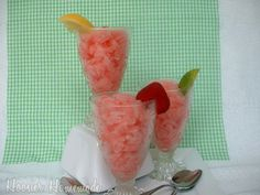 Watermelon Granita and Homemade Popsicles