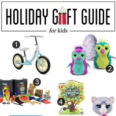 We have gift ideas for the kids today! Fun stuff for boys and girls of many ages. Hope you find some new ideas that the kids in your life will enjoy. They usually are the easiest to buy for, but it's always nice to get ideas that you may not have thought of before. * …