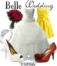 Belle Wedding | Disney Bound