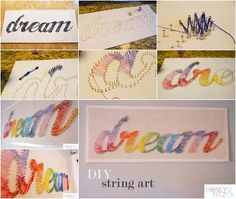 Creative Ideas - DIY Stunning String Art | iCreativeIdeas.com Follow Us on Facebook --> https://www.facebook.com/iCreativeIdeas