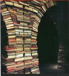 Another idea for all our weeded books!