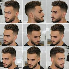 I really like this men's hair cut. – Men's Hairstyles and Beard Models Trendy Mens Hairstyles, Mens Hairstyles With Beard, Hair And Beard Styles, Hairstyles Haircuts, Haircuts For Men, Hairstyle Men, Short Hair Cuts, Short Hair Styles, Gents Hair Style