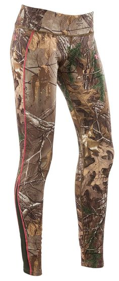40fb83f4 The best Under Armour ColdGear Infrared Scent Control EVO Hunting Leggings  for Ladies | Bass Pro
