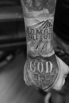 1000+ ideas about Armor Of God Tattoo on Pinterest | God Tattoos, Warrior Tattoos and Christian Tattoos