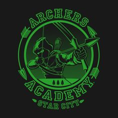 ARCHERS ACADEMY T-Shirt - Green Arrow T-Shirt is $12.99 today at Pop Up Tee!